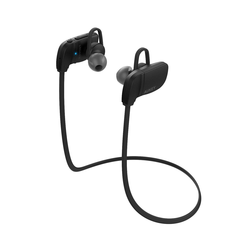 5e8b9c48d5c Audífonos Inalámbricos Bluetooth Deportivos Black — AUKEY